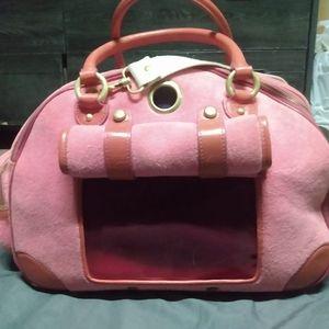 Juicy couture pet satchel